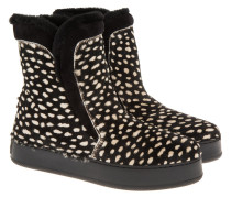 Boots & Booties - Zibibbo Booties White Coccinella Black