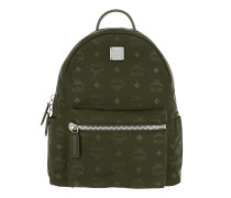 Dieter Monogram Small Backpack Nylon Green Rucksack
