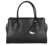 Tasche - Note Leather Tote Medium Black