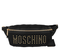 Gürteltasche Quilted Belt Bag Black Fantasy Print