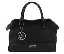 Bowling Bag Logo Charm Nero Bags