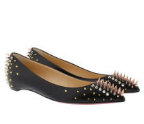 Loafers & Slippers - Goldoflat Flat Flat Nappa Shiny Black/Multimetal