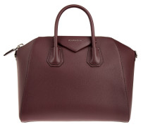 Antigona Medium Handbag Oxblood Tote