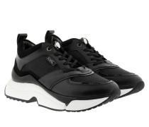 Sneakers Aventur Lux Mix Lace Shoes Black/White