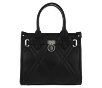 American Icon Mini Tote Quilted Black Umhängetasche