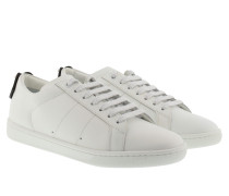 Lips Sneakers Low Silver/White