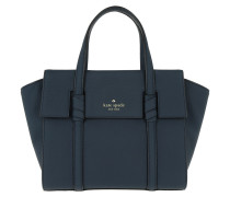 Small Abigail Satchel Bag Twilightblue