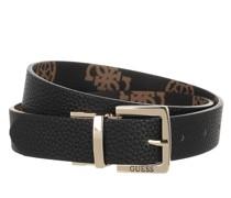 Gürtel Uptown Chic Reversible & Adjustable Belt Black Brown
