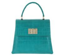 Satchel Bag 1927 Small Handle Smeraldo