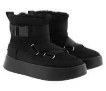 Boots W Classic Boom Buckle Black