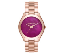 Ladies Slim Runway Watch Rosegold Armbanduhr gold