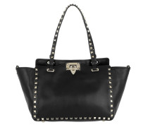 Rockstud Small Tote Bag Black