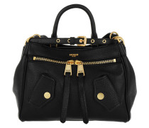 Shoulder Bag Zipper Nero Satchel