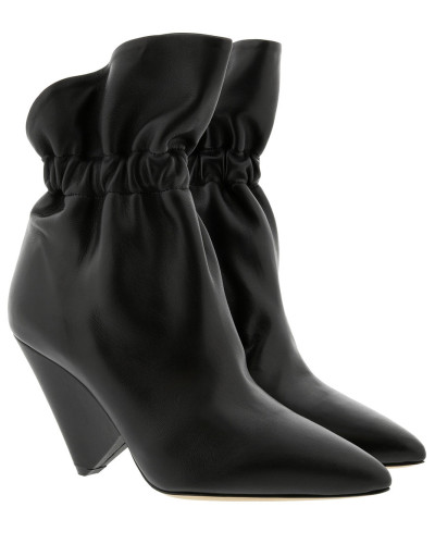 Isabel Marant Ankle Boots Leather Black Schuhe