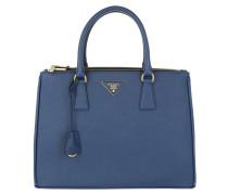 Galleria Tote Bag Saffiano Lux Bluette