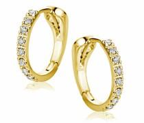 Ohrringe Earrings 18ct With Diamonds