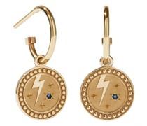Ohrringe Amulet Earrings Strength Blue Sapphire
