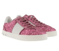 Open Glitter Sneakers B Rose