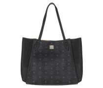 Shopper Luisa Visetos Medium Black