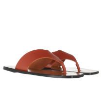 Sandalen Flat Sandal Rust