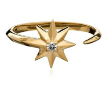 Ring Shooting Star Diamond Adjustable