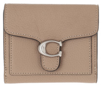 Portemonnaie Polished Pebble Tabby Small Wallet Taupe