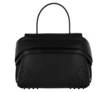 Shoulder Bag Wave Mini Gommino Dolce Mistic Black Umhängetasche