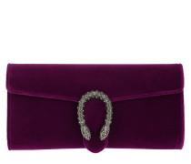 Dionysus Velvet Clutch Ruby