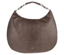 Aja Hobo Large Bubble Dark Brown Bag