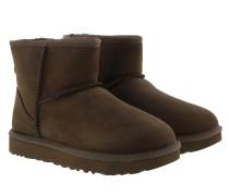 Boots W Classic Mini Leather Chocolate