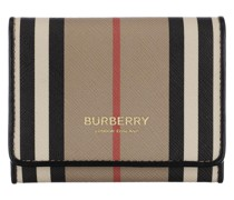 Portemonnaie Icon Stripe Card Case Eco Canvas Archive Beige