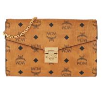 Umhängetasche Patricia Visetos Crossbody Wallet On Chain Cognac