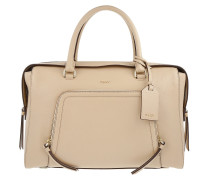 Chelsea Vintage Style Large Satchel Nude Tote