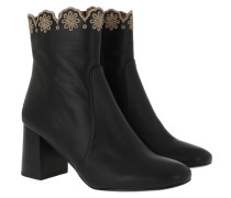 Boots Kristy Bootie Leather Black