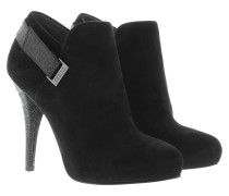Boots & Booties - Ankle Boot Suede Black