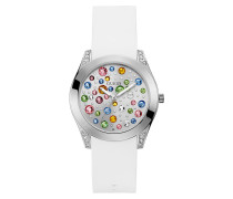 Uhr Women Quartz Watch Wonderlust White