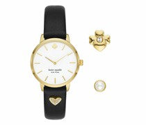 Uhr Metro Watch And Charm Set