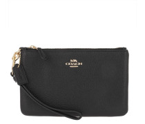Pochette Polished Pebble Small Wristlet Li/Black