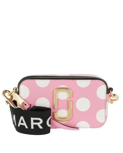 Umhängetasche Snapshot Dot Camera Bag Small Leather Primrose rosa