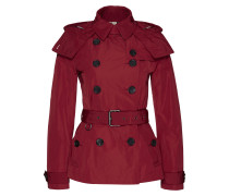 Mäntel - Cropped Balmoral Trenchcoat Parade Red