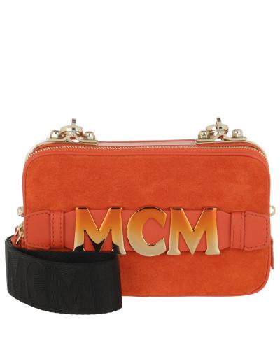 Umhängetasche Cubism Suede Crossbody Bag Mini Orange Dust orange