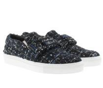 Loafers & Slippers - Slip On Boucle Sneaker Black