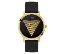 Uhr Men Quartz Watch Imprint Black