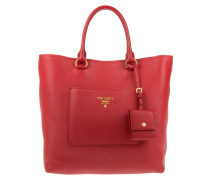 Tasche - Shopping Bag Vitello Daino Rosso