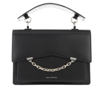 Satchel Bag Seven Medium Shoulder Black