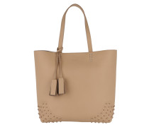 Satchel Wave New Tote Soft Gommini Nocciola