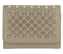 Macaron Mini Wallet Cashmere Silver Portemonnaie