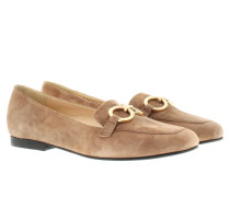 Loafers & Slippers - Cecilia Suede Loafer Brown