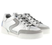 Stella Sneakers Silver Matt Sneakers