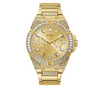 Uhr Mens Sport Watch Gold Tone